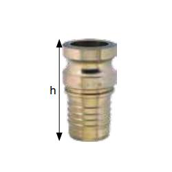 Złącza do zaciskania prasą hydrauliczną typ VSTP