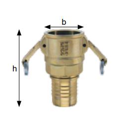 Złącza do zaciskania prasą hydrauliczną typ MSTP