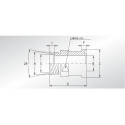 Adapter SFCE Metryczny