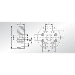 Adapter redukcyjny RIF
