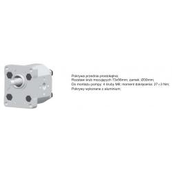 Pompa zębata grupa 1.5, śruby 71,9x52,4mm, zamek 32mm