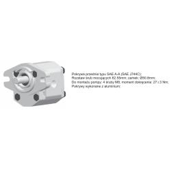 Pompa zębata grupa 1.5, śruby 82,55mm, zamek 50,8mm