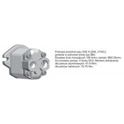 USIT Pompa zębata grupa 2, śruby 106,4mm zamek 82,55mm