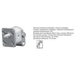 ORING Pompa zębata grupa 2 śruby 96x71,5mm zamek 36,5mm