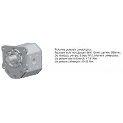 Pompa zębata grupa 3 śruby 86x110mm zamek 90mm