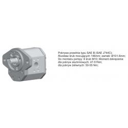 Pompa zębata grupa 3 śruby 146mm zamek 101,6mm