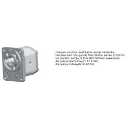 Pompa zębata grupa 3 śruby 145x102mm zamek 105mm