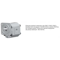 Pompa zębata grupa 3.5 śruby 114.5x114,5mm zamek 127mm