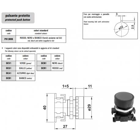 Przyciski sterownicze - przełączniki