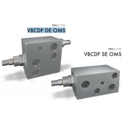 Zawór przeciążeniowo-blokujący VBCDF DE/SE OMS