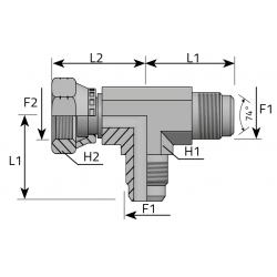 GZ JIC/GZ JIC/GW JIC Trójnik niesymetryczny