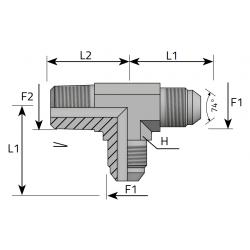 Trójnik niesymetryczny JIC-BSPT TMJ MGK B