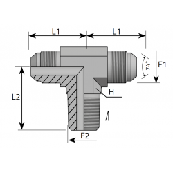 Trójnik symetryczny JIC-BSPT TMJ MGK P
