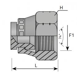 Śruba zaślepiająca z nakrętką ATFGJ