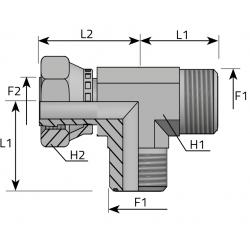 Trójnik niesymetryczny GZ GW ORFS TMO FGO. B