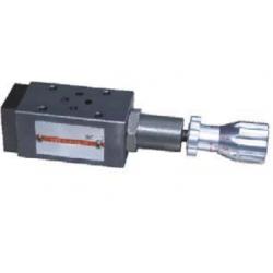 Zawór ciśnieniowy hamujący płytowy