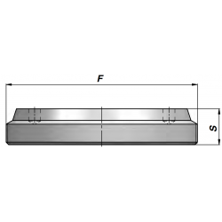 Dno cylindra CF30