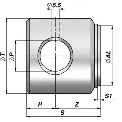 Dno cylindra CFHR