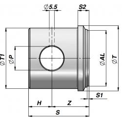 Dno cylindra CFHRT