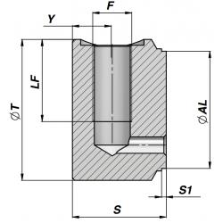 Dno cylindra CFVP