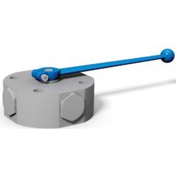 Zawór kulowy wielodrogowy do zamontowania na kolektorze DN6 - DN40 do 500 Bar