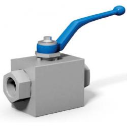 Zawór kulowy gwintowany blokowy z dopuszczeniem ognioodpornym DN13 - DN50 do 420 Bar