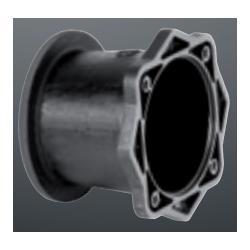 Złącze dzwonowe żeliwne do serwo silnika