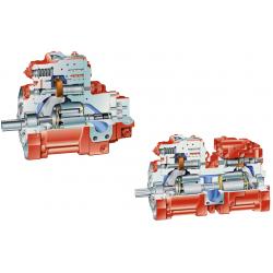 Pompa osiowa tłokowa wysokiego ciśnienia z układem otwartym K3VG 280cm³ Serii