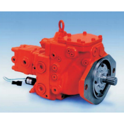 Pompa osiowa tłokowa średniego ciśnienia do minikoparek K7SP z otwartym układem 36+36cm³