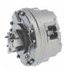 Silnik hydrauliczny z tłokiem radialnym o stałym momencie obrotowym i stałej wydajności GM03