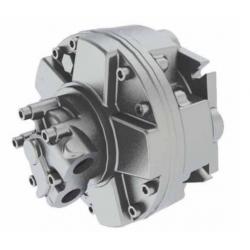 Silnik hydrauliczny z tłokiem radialnym o stałym momencie obrotowym i stałej wydajności GM2