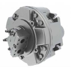 Silnik hydrauliczny z tłokiem radialnym o stałym momencie obrotowym i stałej wydajności GM6
