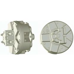 Silnik Hydrauliczny z tłokiem radialnym o dużej prędkości i mocy GS4