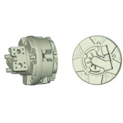 Silnik Hydrauliczny z tłokiem radialnym o dużej prędkości i mocy GS6A