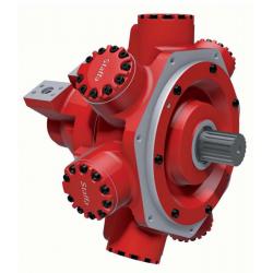 Silnik z tłokiem radialnym o podwójnej pojemności skokowej Serii HMC