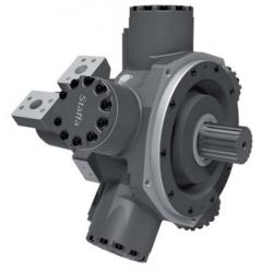 Silnik hydrauliczny z tłokiem radialnym o podwójnej pojemności serii HPC