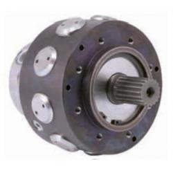 Silnik hydrauliczny z tłokiem radialnym dużej szybkości Serii G/GD