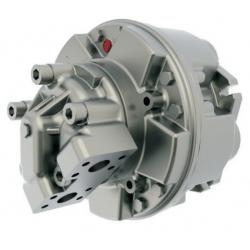 Silniki hydrauliczne o podwójnym przemieszczeniu z tłokami promieniowymi Seria BD6