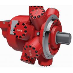 4-biegowy, radialny silnik tłokowy o dużej mocy do zastosowań przemysłowych HPC 400