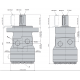 Silnik hydrauliczny Serii SR