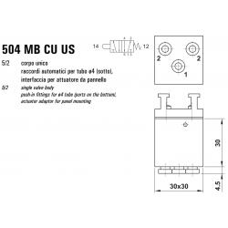 Mikrozawór MB CU US