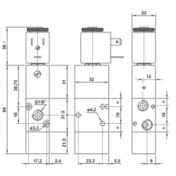 Elektrozawór 321 MRE