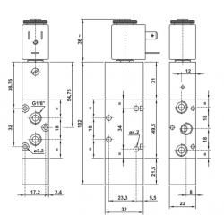 Elektrozawór 521 MRE