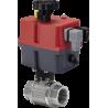 Zawór kulowy serii TOTAL z siłownikiem elektrycznym
