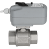 Zawór kulowy serii LYBRA z siłownikiem elektrycznym